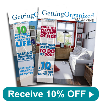 Subscribe to Getting Organized Magazine
